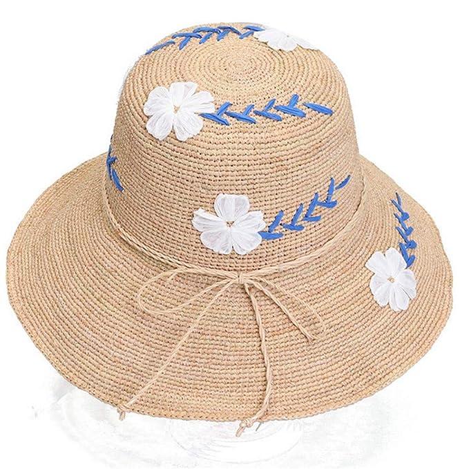 Sombreros de paja para mujer 2018 75aa3ac9c87