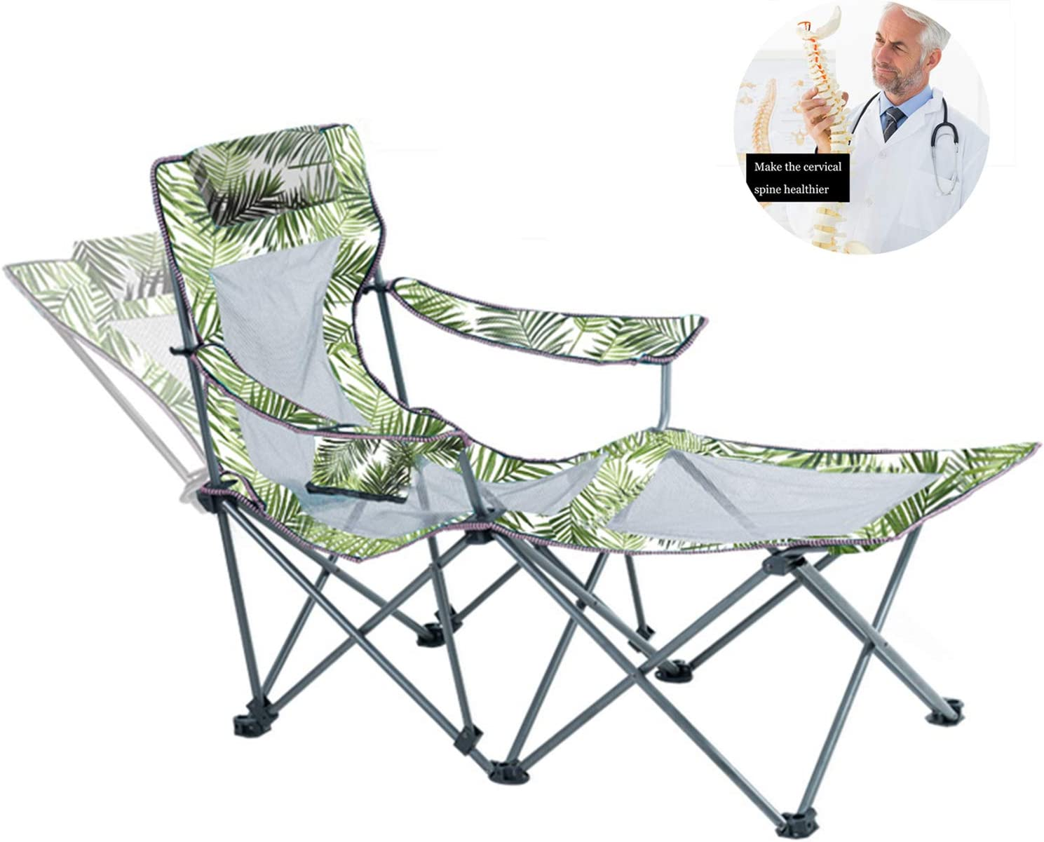 Armor Castle Recliner Camping Chair