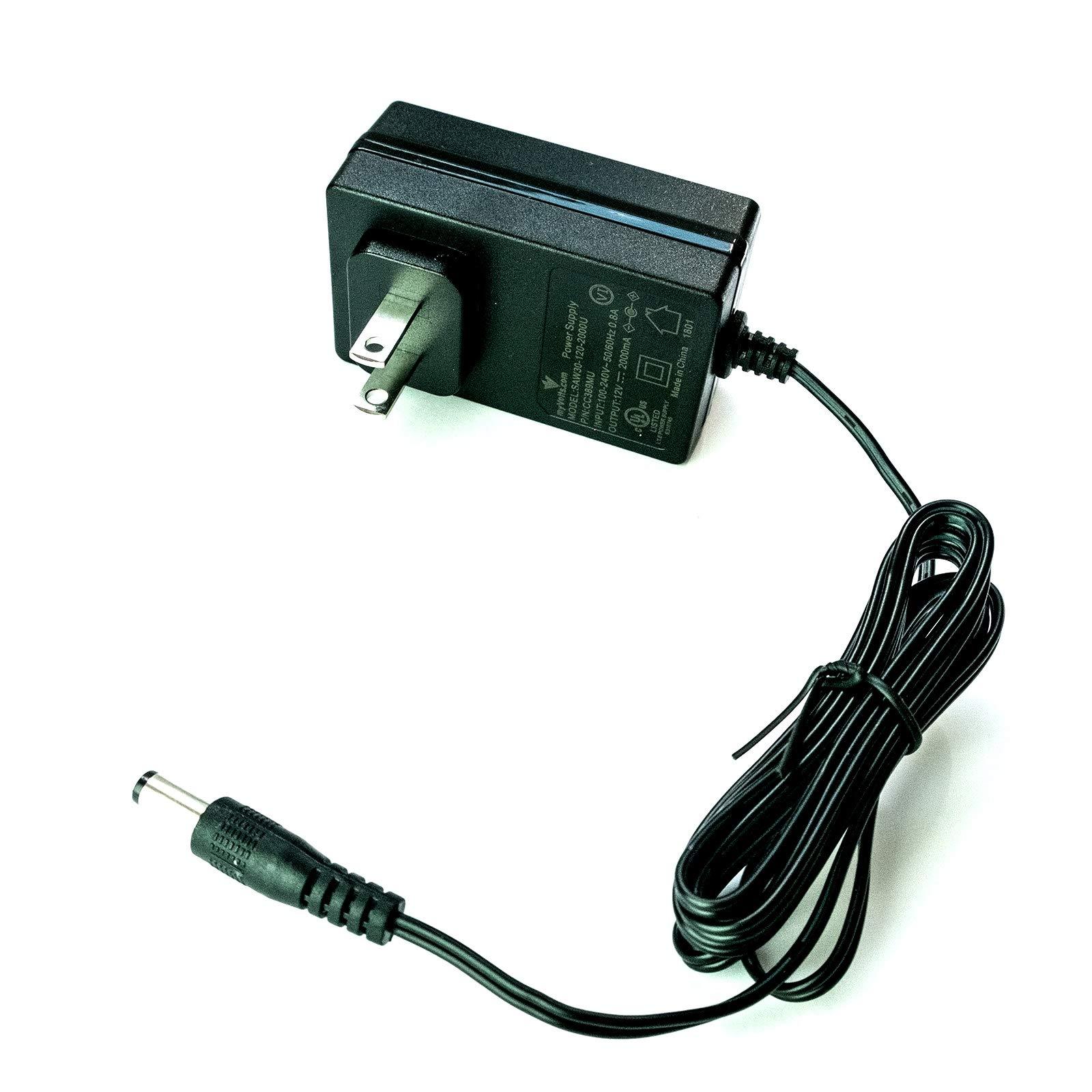 12V Western Digital Easystore 8TB USB 3.0 External hard drive replacement power supply adaptor - US plug