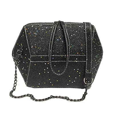 Fashion Women Lady Shell Sequins Crossbody Bag Coin Purse Phone Packet  Shoulder Tote Leather Satchel Handbag 8c8dca806aba