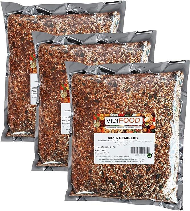 VidiFood Mezcla de Semillas - 3kg: Amazon.es: Alimentación y bebidas