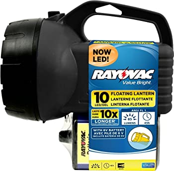 Rayovac Value Bright 85-Lumen 6V 10-LED Floating Lantern Battery
