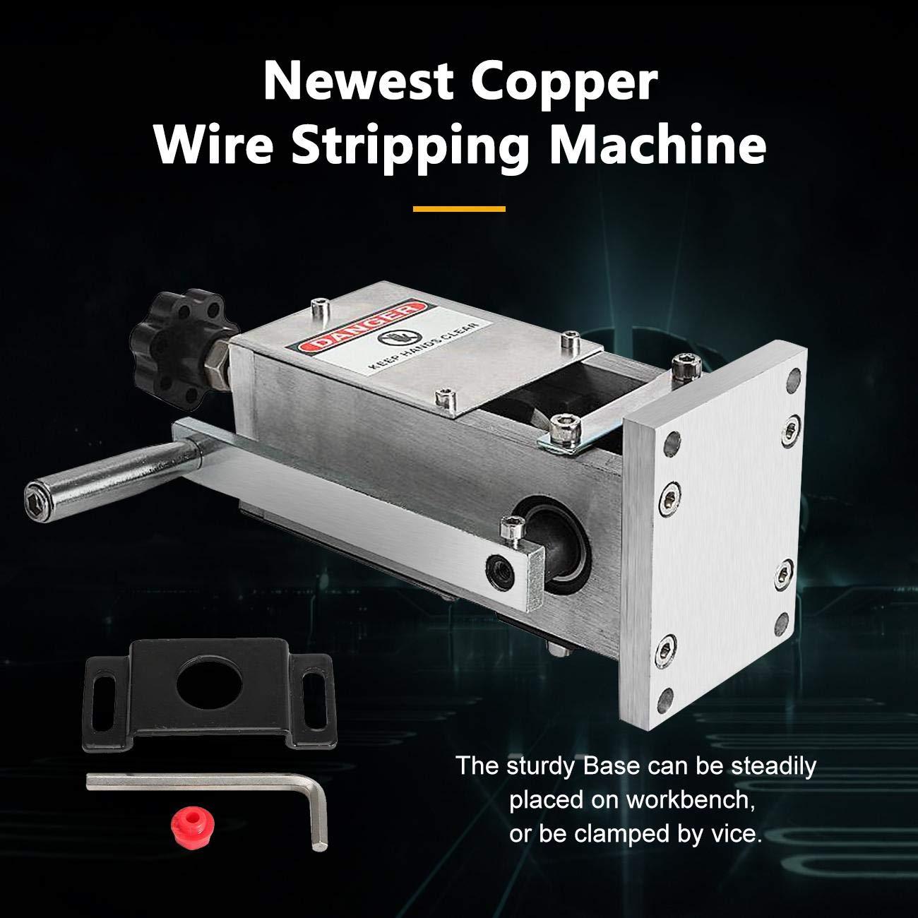 Dyna-Living Machine /à d/énuder portable multifonction pour c/âble de cuivre 1,5 /à 25 mm
