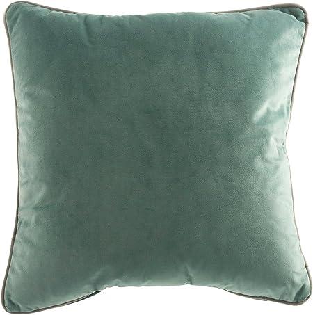 Cuscini Verde Tiffany.Galileo Casa 2414625 Cuscino Arredo Velluto Verde Acqua 45x45x1