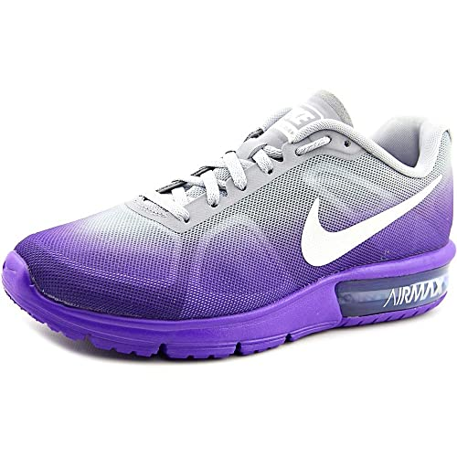 the latest abdb0 14292 Nike Air Max Sequent scarpa da corsa Fierce viola   Lupo grigio   viola    bianco Taglia 7 M Us  Amazon.it  Scarpe e borse