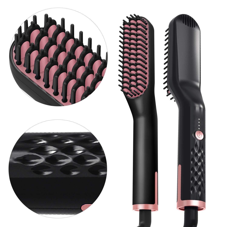 RioRand Beard Electric Straightener Brush