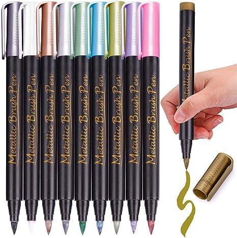 Pentel Watercolour Brush Pen OLIVE GREEN soft brush tip