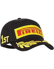 Gorra Pirelli F1 Podium 1st - Negra Original Importada