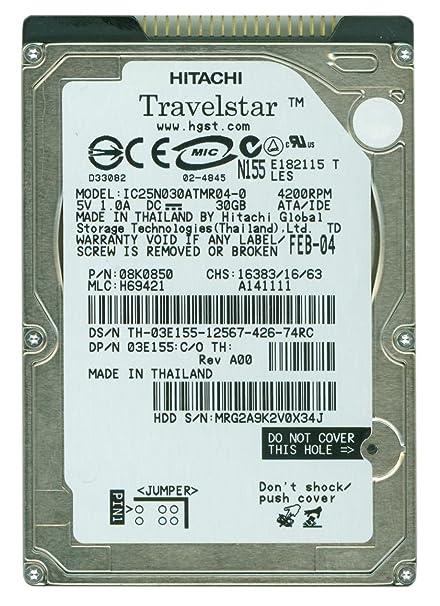 DOWNLOAD DRIVERS: HITACHI TRAVELSTAR IC25N030ATMR04-0