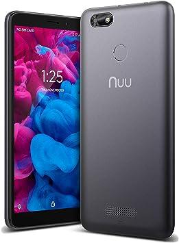 NUU Mobile A5L+, memoria de 16GB, NFC, ID de huella digital, 4G ...