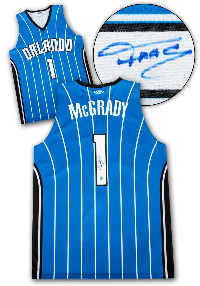 low priced 30baa 97414 low-cost Autographed Tracy McGrady Jersey - Custom ...