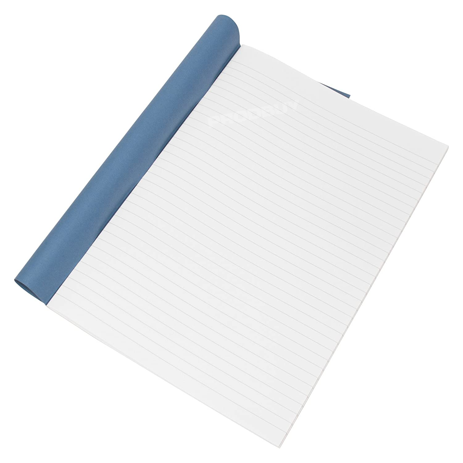 A4 Ruled Pages Hardback Book Lined White Paper Office School Project Notebook