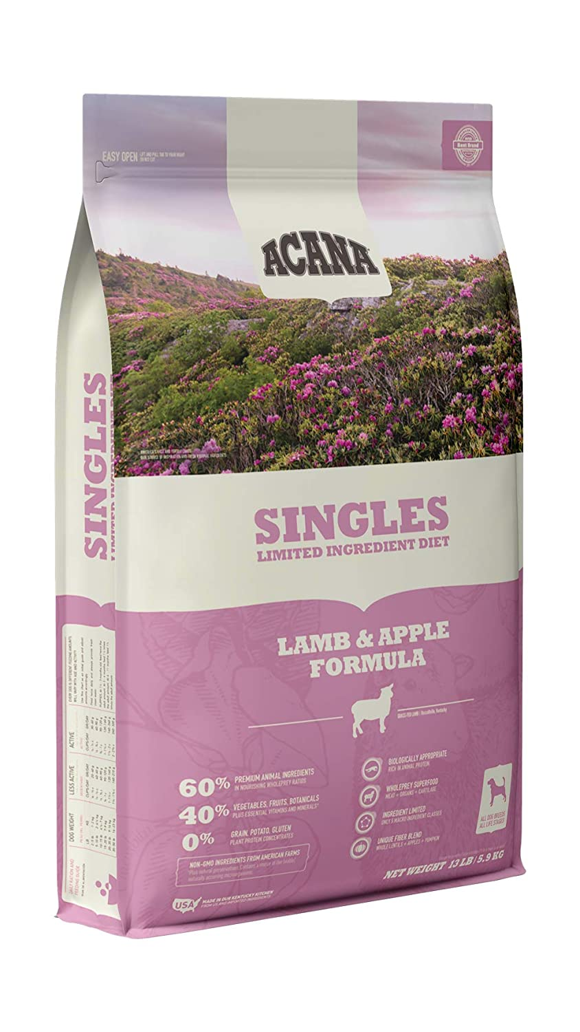 3. Acana Singles Limited Ingredient Dry Dog Food