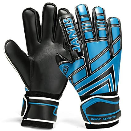 d2eeb29bc JYH Professional Adult & Youth Latex Soccer Goalkeeper Gloves,Strong Grip  Finger Protection Football Goalie Goal keeper,With Finger Spines to Prevent  ...