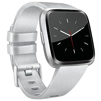 Tobfit para Fitbit Versa, Correa de Repuesto Ajustable para Fitbit Versa Smartwatch Grande y pequeño