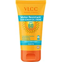 VLCC Water Resistant Sunscreen Gel Creme, SPF 60, 100g