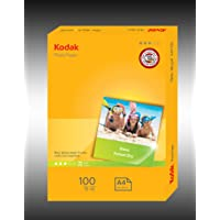 Kodak 180GSM 100 Sheets Gloss Instant Dry 180gsm A4 Photo Paper, (5740-105)