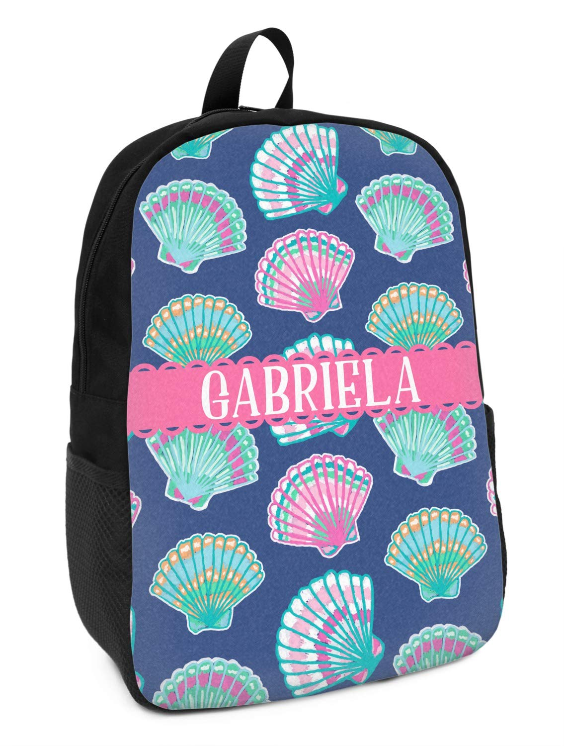 Preppy Sea Shells Kids Backpack Personalized