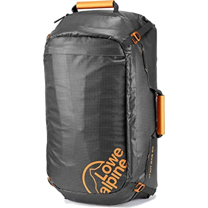 Amazon.com  Lowe Alpine AT Kit Bag 90 Pack Anthracite   Amber One ... 756bdf2941c97