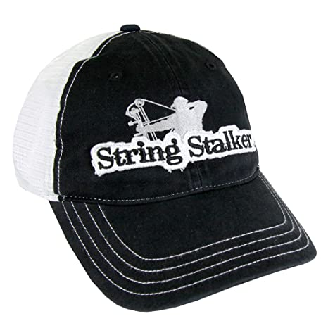 8e6bb9e961807 Image Unavailable. Image not available for. Color  String Stalker Hometown  Mesh Back Bow Hunting Hat