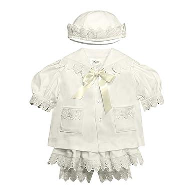 2621451a5371f Amazon.com: Victorian Organics Baby Girl Sailor Set 4 Piece Organic ...