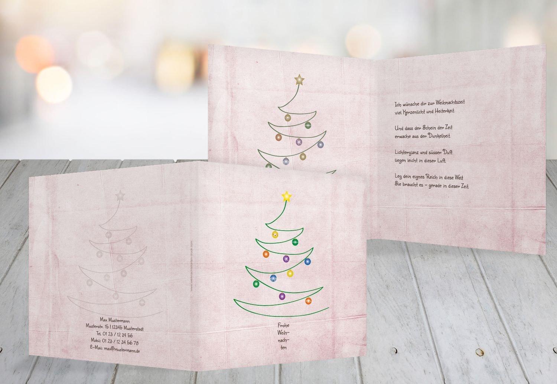 Kartenparadies Grußkarte Weihnachten Grußkarte Weihnachtsbaum, hochwertige Weihnachtsgrüße als Weihnachtskarte (Format  145x145 mm) Farbe  Hellgrün B01MY7PIFJ | Verschiedene Arten und Stile  | Qualifizierte Herstellung  | Üpp