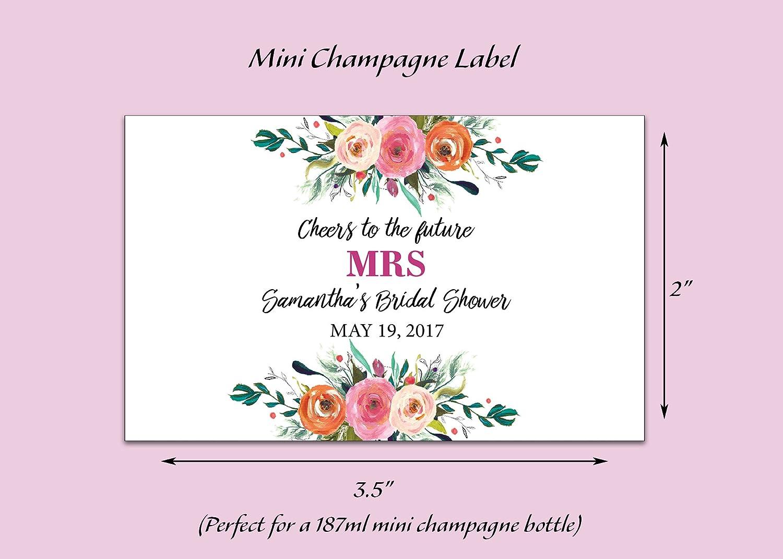 Amazon.com: Cheers to the Future Mrs. ○ SET of 8 ○ CUSTOM Bridal ...