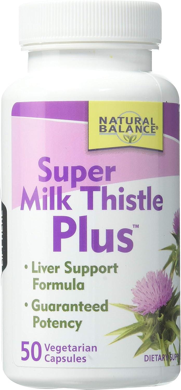 Natural Balance Milk Thistle Plus, Super | 50ct