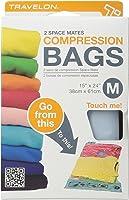 Travelon 2 Space Mates Compression Bags Medium