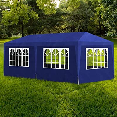 Party Tent 10'x20' Blue: Kitchen & Dining