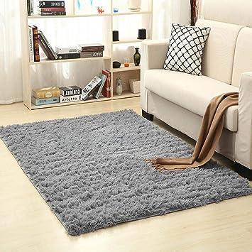 Bereich Teppich Verdickt Waschbar Fluff Rutschfeste Zimmer Teppich Kinderzimmer Teppich 120 160cm