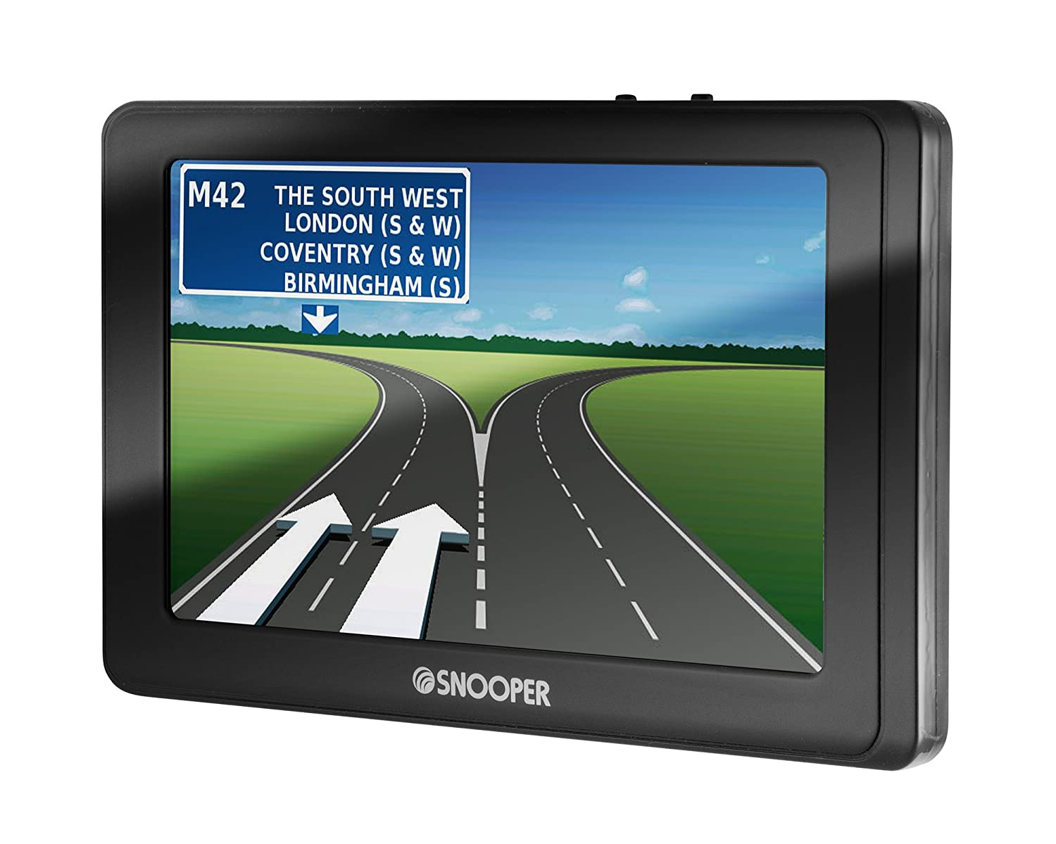 Snooper S2700 4.3 Inch Satellite Navigation System with European Lifetime Maps for Cars Performance Products Limited S2700 SYRIUS EU