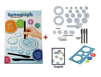 G-Hawk Spirograph Deluxe Design Set Juguetes educativos Dibujo ...