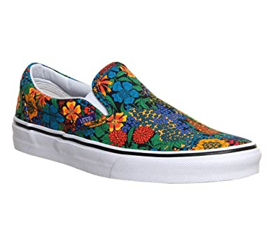 184a18d70531 Vans Classic Slip-On Liberty Multi Floral Shoes Sneakers (Mens 7 Womens 8.5