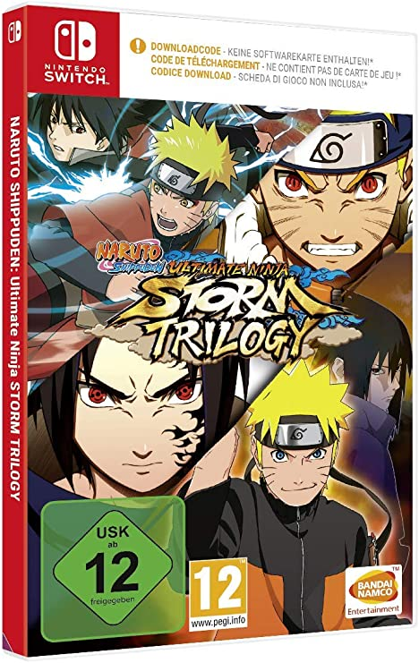 Naruto Ultimate Ninja Storm Trilogy (Code in a Box) - Nintendo ...