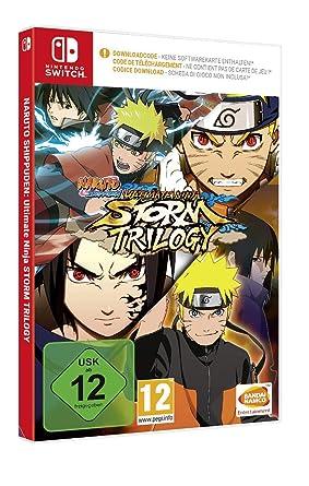 Naruto Ultimate Ninja Storm Trilogy (Code in a Box) - [Nintendo