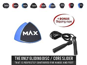 /& Bauchtraining Home Workout Sliders Discs Gleitscheiben für ein optimales Core