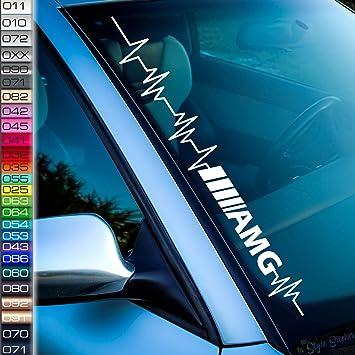 Pulsschlag Amg Aufkleber Tuning Mercedes Sticker Benz Amg Ce 43 45 53 63 65 Modelle S Drive