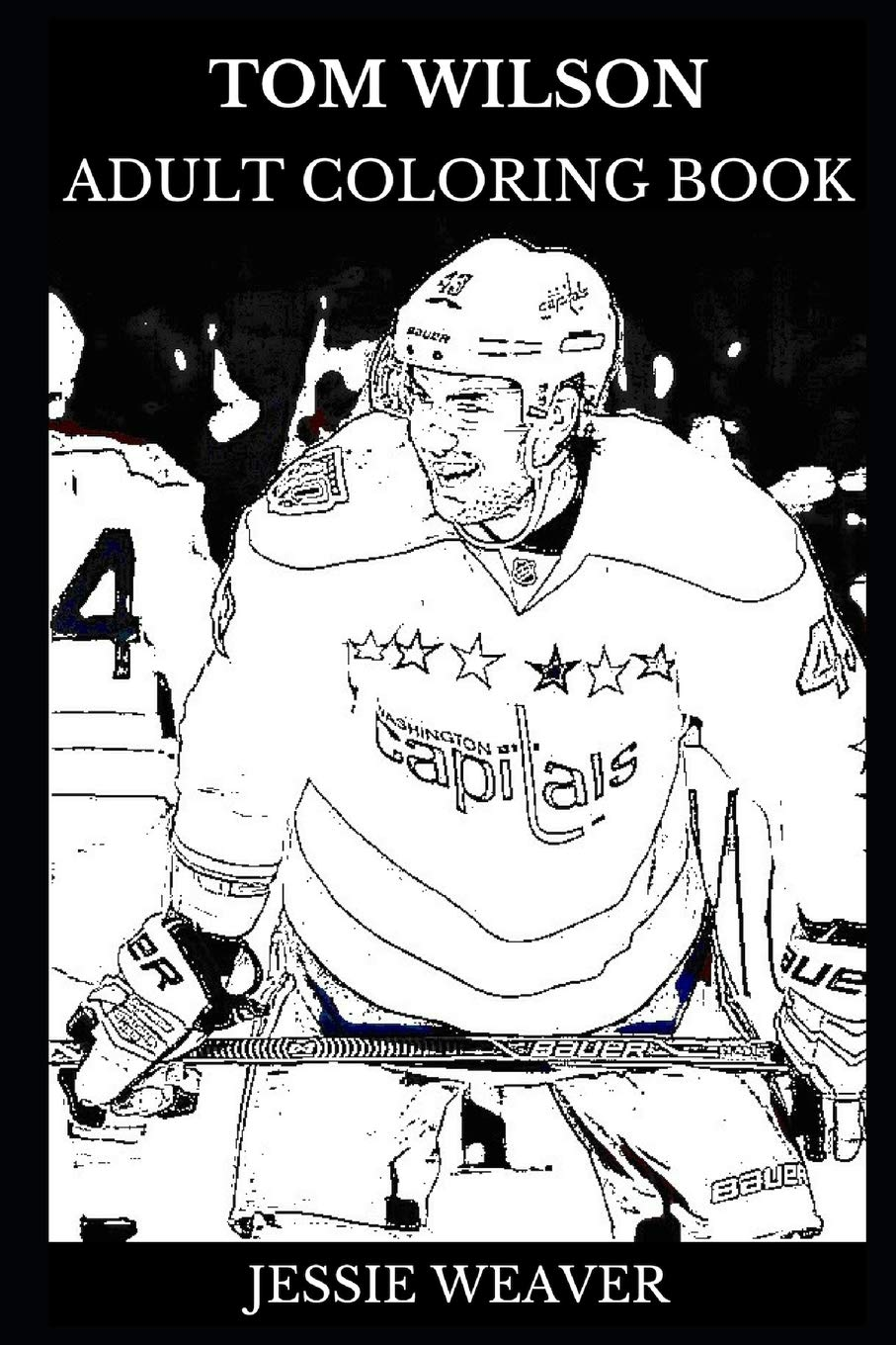 Tom Wilson Adult Coloring Book: Controversial and Legendary Ice ...