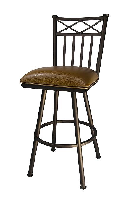 Amazoncom Callee Inc Arcadia Swivel Barstool 26 Inch Seat Height