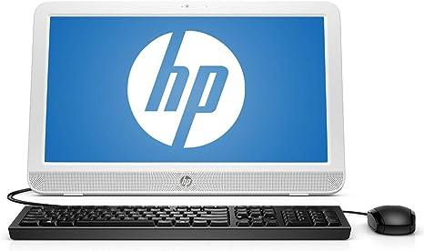 Amazon Com Hp 20 E019 19 45 Aio Desktop Amd E1 6010 1 35ghz 4gb 500gb Windows 10 Computers Accessories