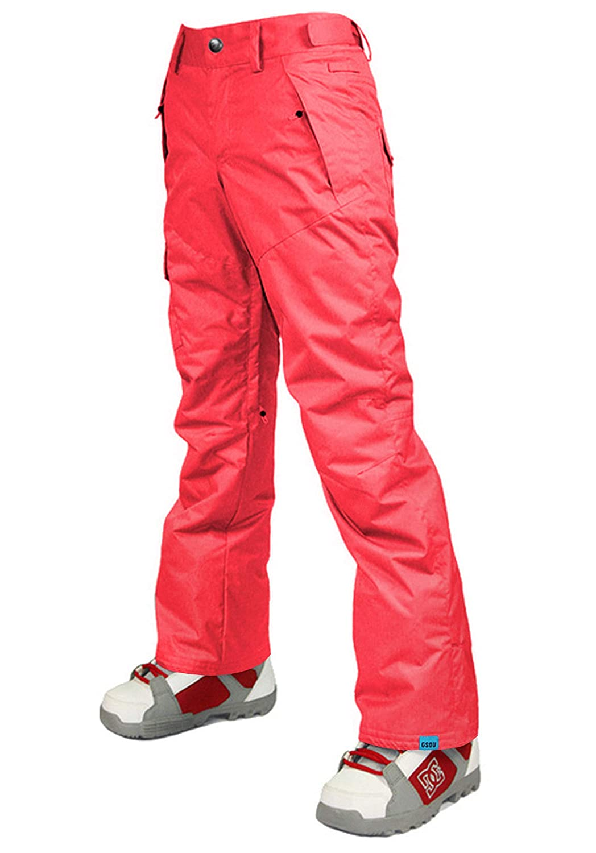 Coral Red APTRO Women's Snow Pants Windproof Waterproof HighTech Insulated Ski Snowboarding Pants