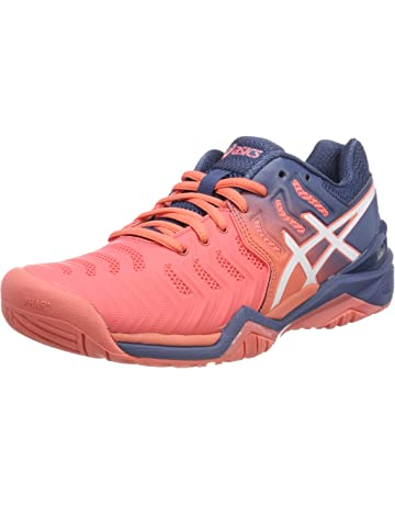 9e5107f7b85ef6 ASICS Gel-Resolution 7, Chaussures de Tennis Femme