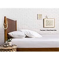 Comfy Sheets 100% Egyptian Cotton Sateen Weave 1000 Thread Count Twin XL Fitted Sheet with Elastic All Around - Fits…