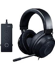 Razer Kraken Tournament Edition Black - Kabelgebundenes Esports Gaming-Headset mit voller Audio-Steuerung & THX Spatial Sound, in Schwarz