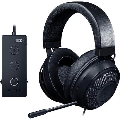 Razer Kraken Tournament Edition Auriculares Gaming, con Cable, Control de Audio y THX Spatial Audio, Alámbrico, Color Negro