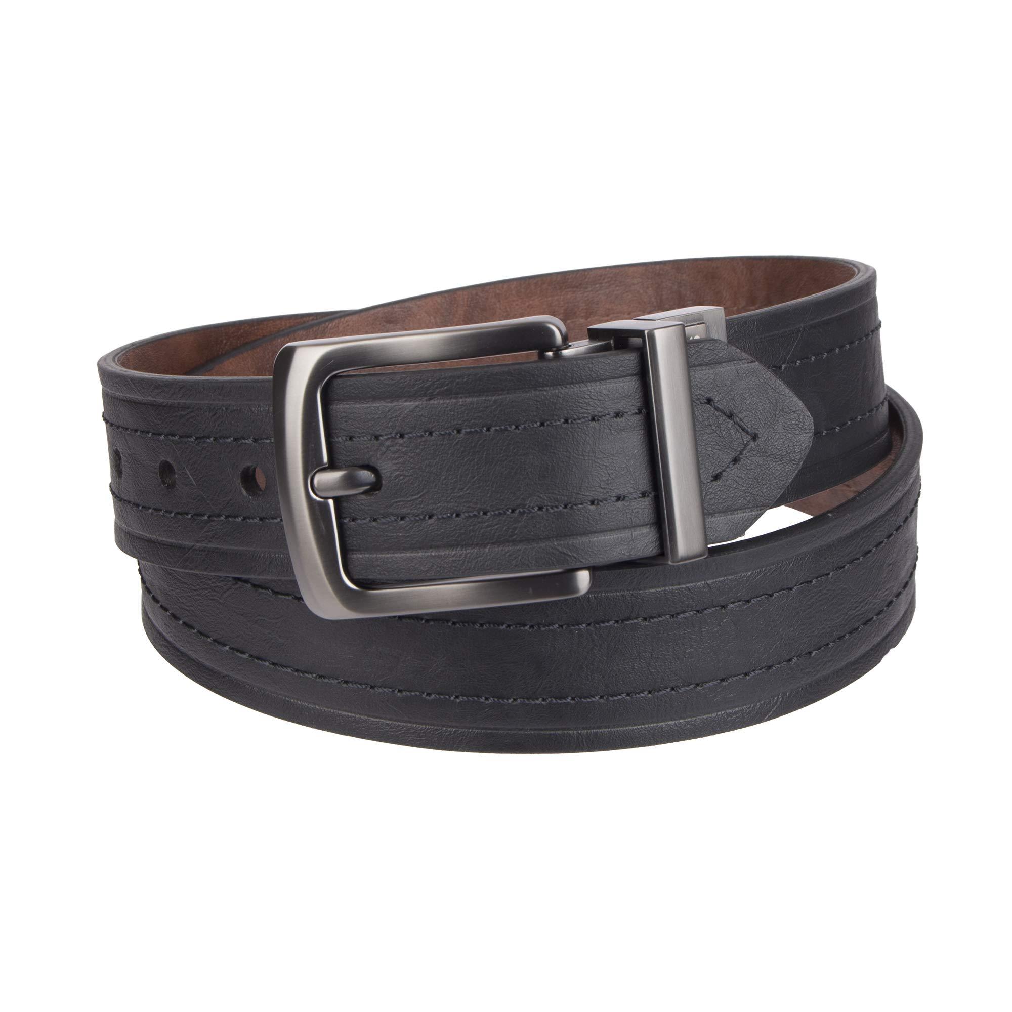 Levi's Men's 1 9/16 in. Reversible Belt-Black/Tan, 36 by Levi's