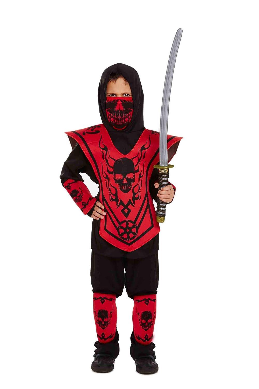 Niños Ninja Disfraz 7-9 AÑOS: Amazon.es: Juguetes y juegos