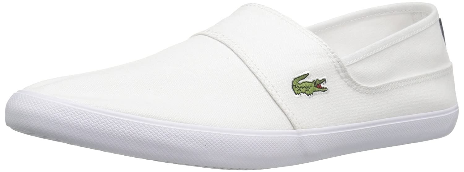 ecac8795c46535 Lacoste Marice Canvas Loafer White 7 D(M) US  Buy Online at Low Prices in  India - Amazon.in
