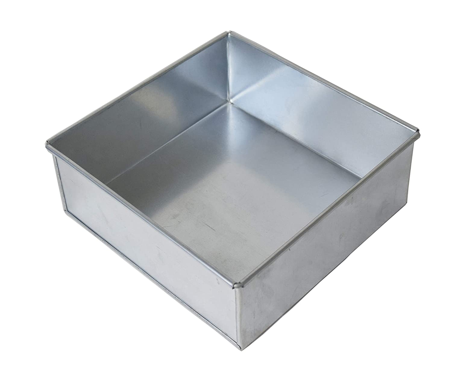 Square Birthday Wedding Anniversary Cake Baking Pan / Tin 12